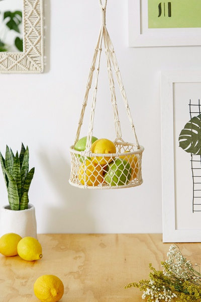 Macrame fruits busket picture