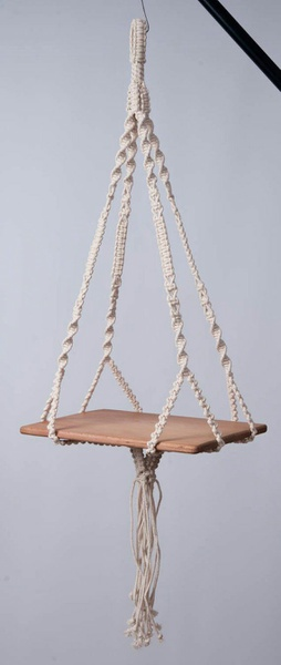 Macrame plant hanging stand picture