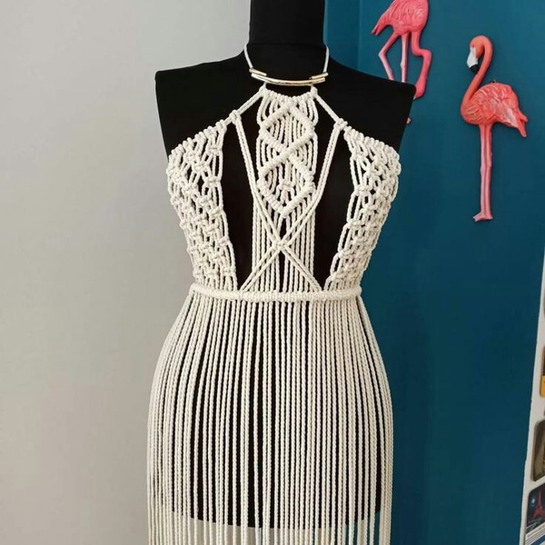Macrame dress picture