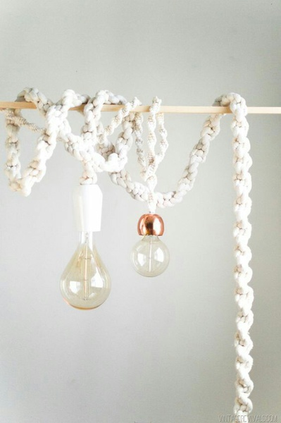 Macrame lights picture