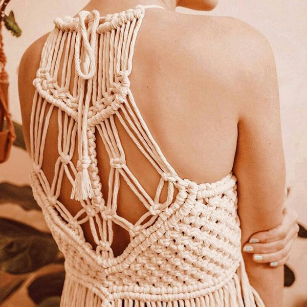 Macrame top picture