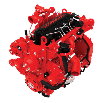 Cummins isf 2.8 - isf 3.8 complete engine picture