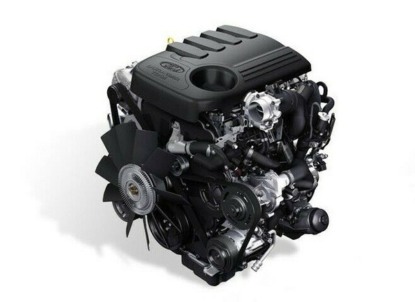 Ford 2.2tdci complete engine picture