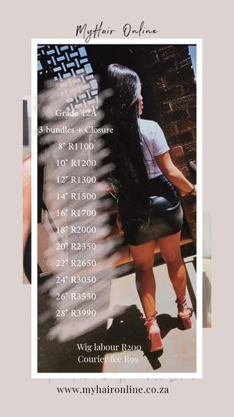 Pricelist picture