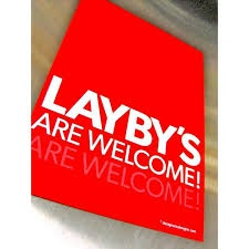 Layby's are accepted. picture