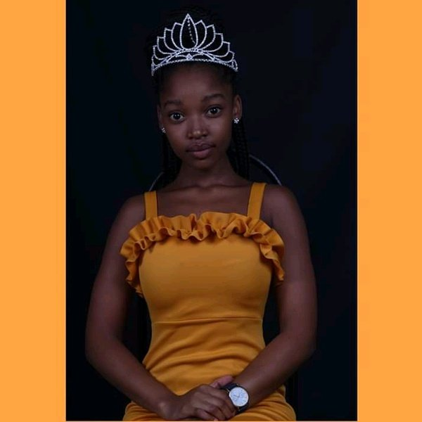 Naomi makgalemele miss kuruman 2019/2020 picture