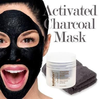 Kalahari Activated Charcoal Mask picture
