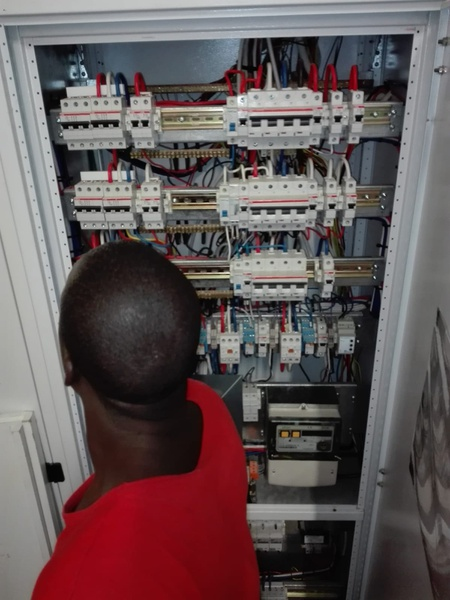 Distribution boards faulty and upgrade picture