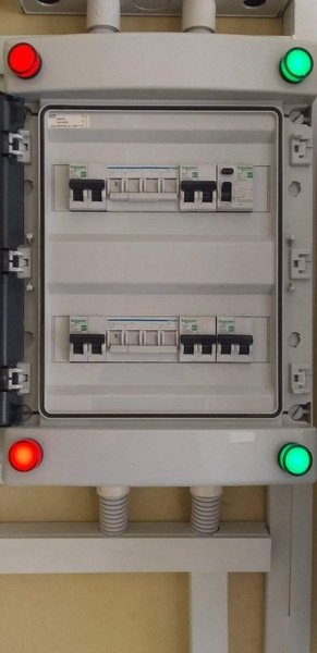 Control & power circuit fault finding picture