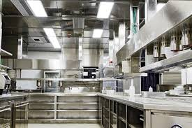 Restaurants kitchen and lighting picture