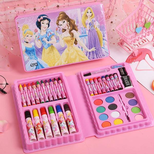 42 pc colouring set ( princess) picture