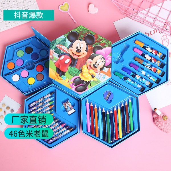 46pc colouring set ( mickey) picture