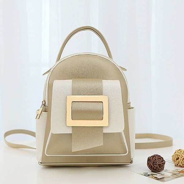 Small backpack (light brown/white) picture