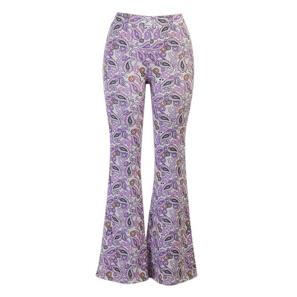,(s1-air)high waiste flared pants picture