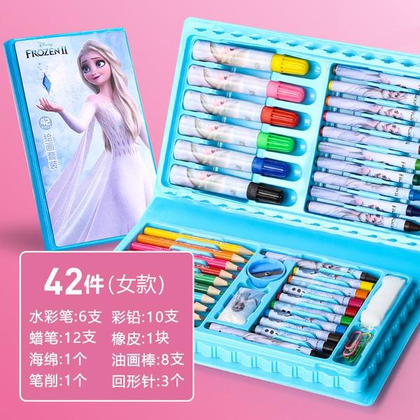42 pc colouring set ( frozen) picture