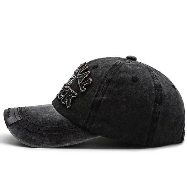 Retro, washed cotton baseball caps. picture