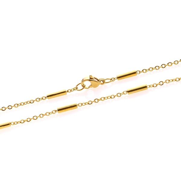Split bar choker+necklace picture