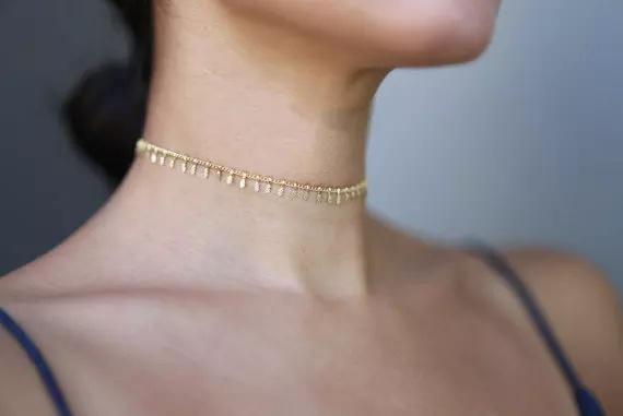 Comelita choker+necklace picture