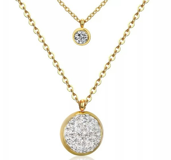 Stardust bouble necklace picture
