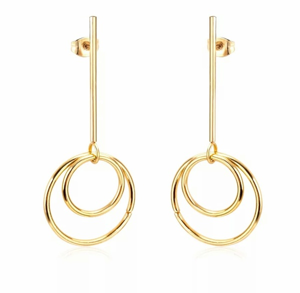 Double terres earings picture