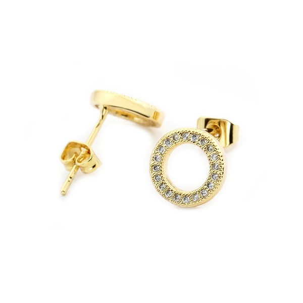 Cyclone stud earings picture