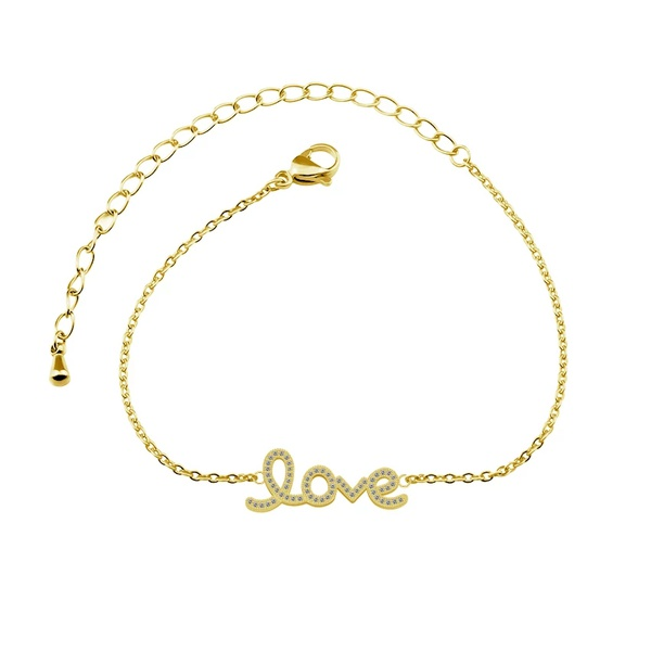 Megan love bracelet picture