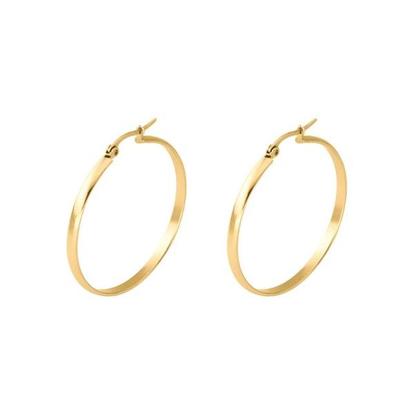 Glow hoop earings picture