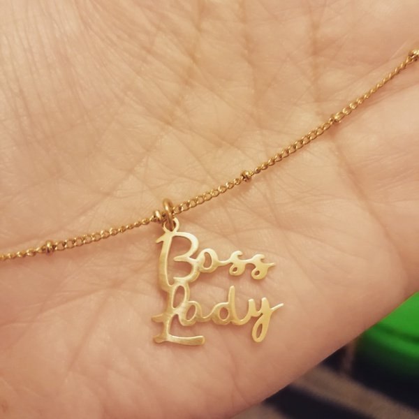 Boss lady necklace picture