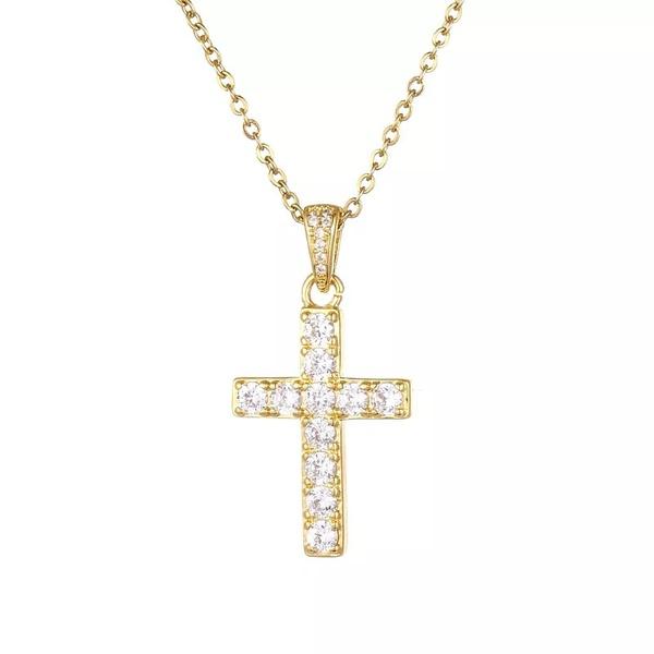 Grace cross necklace picture