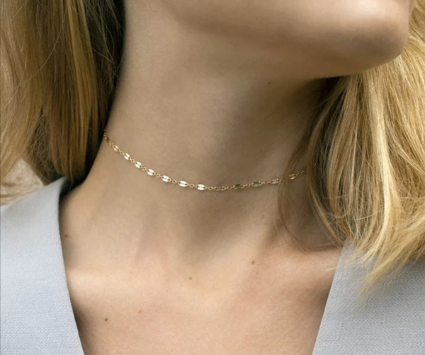 Souffle choker necklace picture