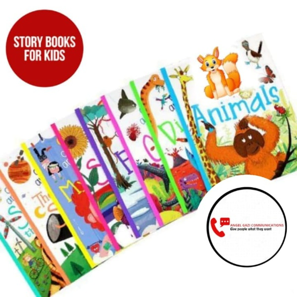 Educational story books for kids picture