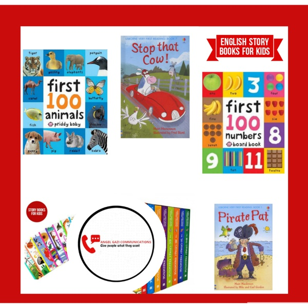 Educational story books for kids ( take 2 for r160) picture