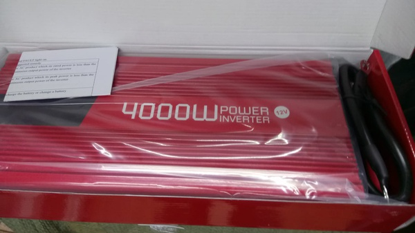 4000watt 12olt stand alone modified inverter picture