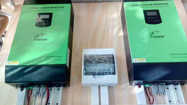 Solar Panels, Inverters and Batteries. picture