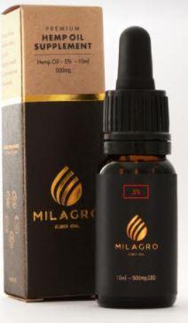 Milagro cbd oral oils 500mg picture