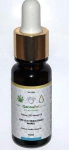 Qannabliss 700mg pet oil picture