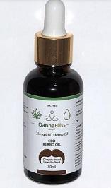 Qannabliss cbd beard oil picture