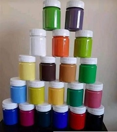 High quality craft paints-6x50ml picture