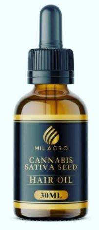 Milagro hair oil picture