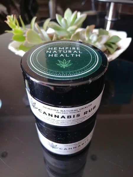 Cannabis pain & skin rub 50ml picture