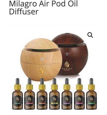 Milagro cbd oil pod / diffuser picture