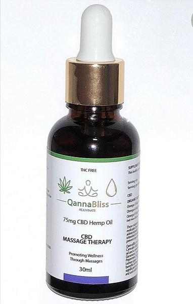 Cbd massage oil picture