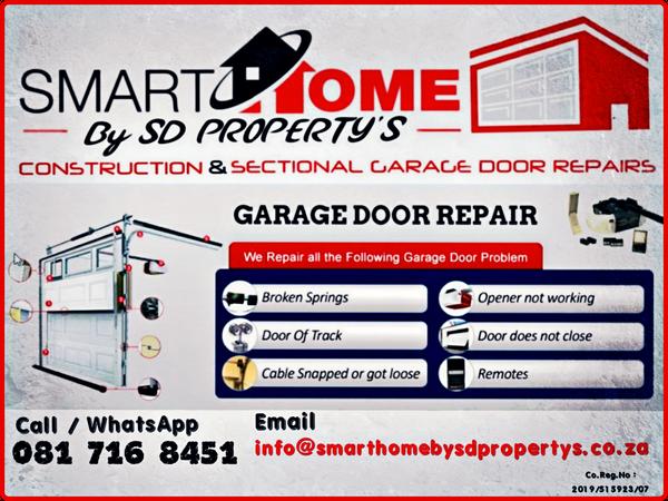 Sectional Garage door repairs picture