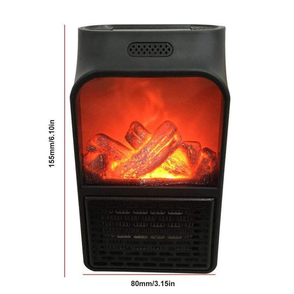 1000w flame wall heater plugin picture