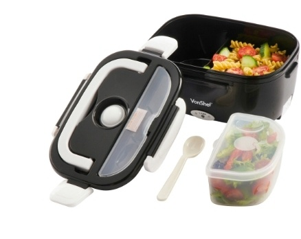 Electric warming / heating lunch box picture