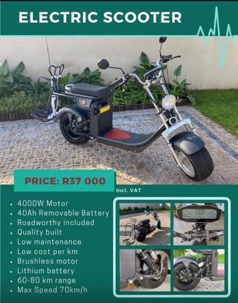 Bolt electric bike harley style picture