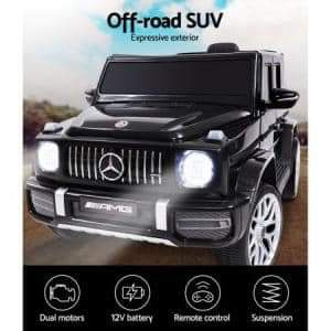 Licensed mercedes g63 electric pedal picture