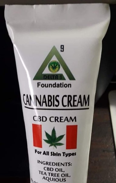 Cbd aqueous cream 500ml picture