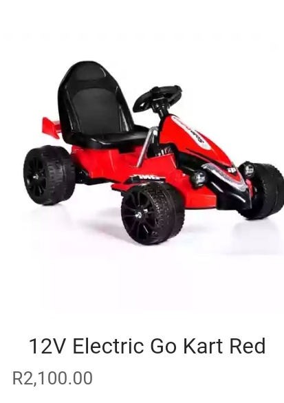 Electric go cart picture