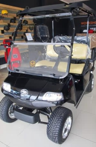 4-seater golf cart picture